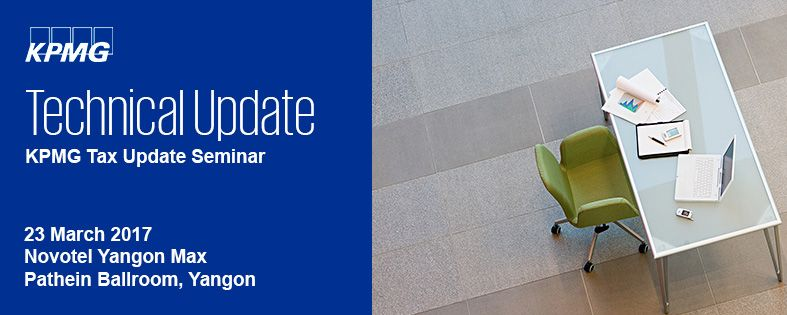 KPMG Tax Update Seminar