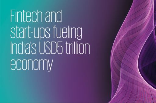 Fintech and start-ups fueling India's USD5 trillion economy