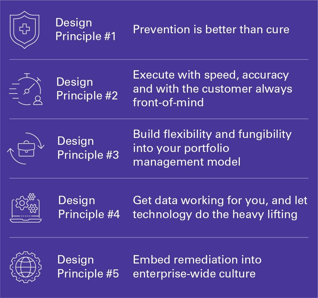 Five design principles to foster successful remediation execution