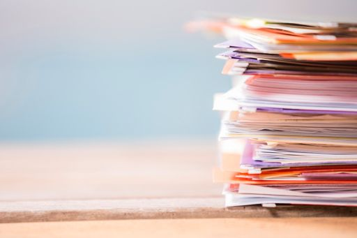 folders files documents stack up