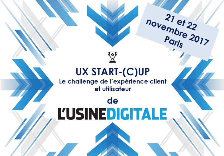 UX START (C)UP avec l'Usine Digitale