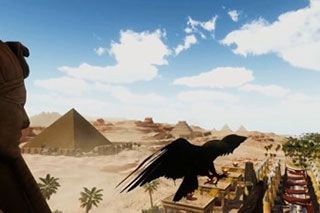 Experience immersive Temple of Egypt