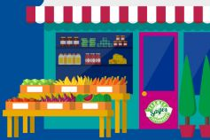 Fruits and vegetables shop - Sages image