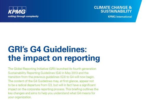 g4: the impact on reporting