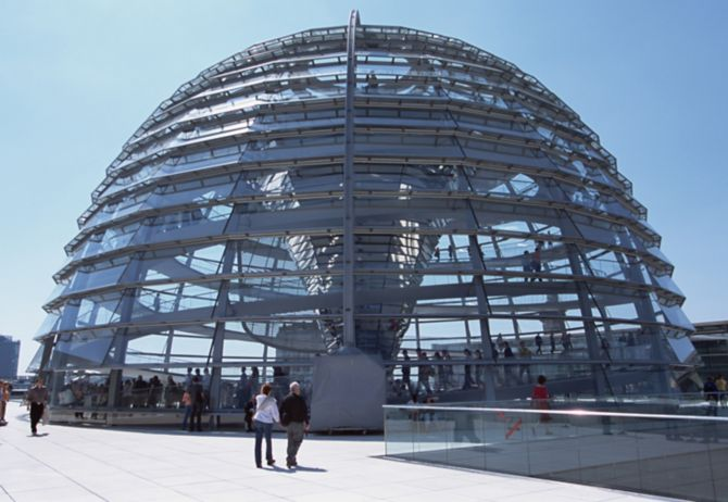 the dome of the Reichstag Building