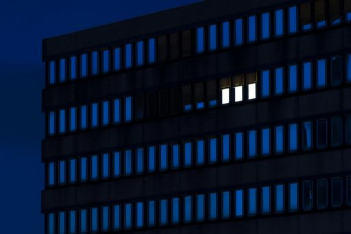 lighted-windows-in-office