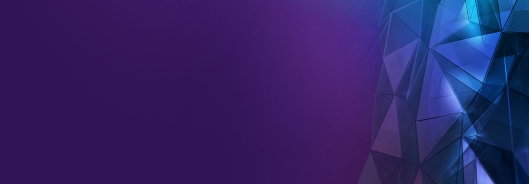 Glass texture on purple background