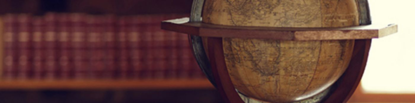 Globe and notes