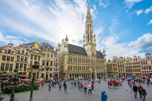 Grand Place square in centre of Brussels