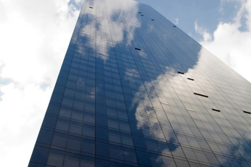Tall building and sky