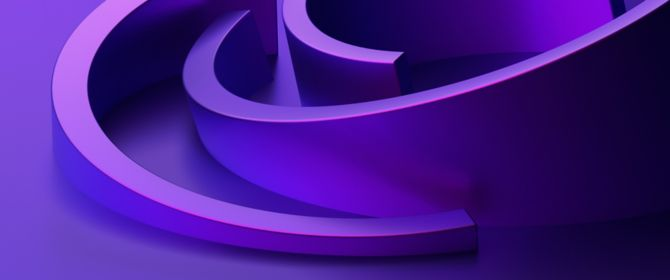 Human on mountain with sunset