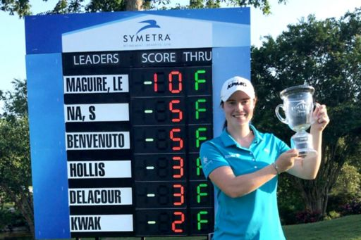 Golfer Leona Maguire wins at the Symetra Tour