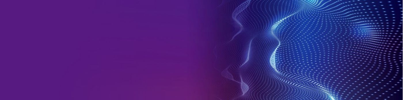 Abstract mesh image on purple background