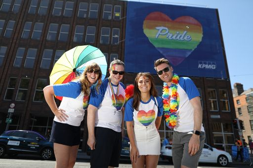 Making KPMG a better place to work and building a culture where we support all our people to balance their career ambitions with their personal lives is a big priority. KPMG is proud to be an ally to all those in the LGBT+ community.