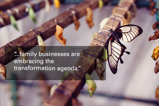 family businesses are embracing the transformation agenda