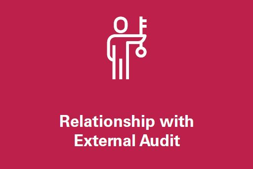 Relationship with external audit
