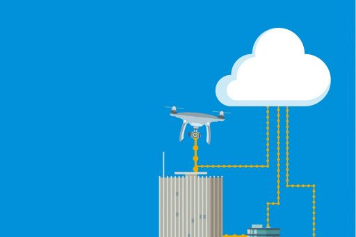 illustration-buildings-connected-to-cloud