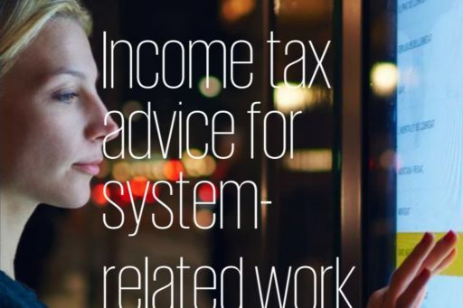 income tax advice for system-related work