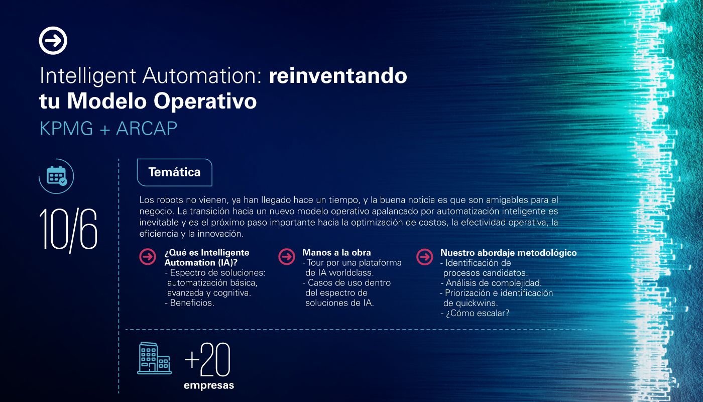 Intelligent Automation (IA) y Data & Analytics
