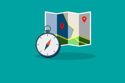 Insurance | Transition to IFRS 17 | Illustration of map and compass