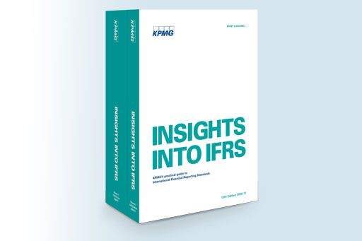 Insights into IFRS publication image: picture of Insights into IFRS hardback books