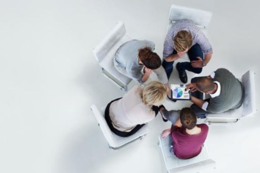 Disclosures | Group of people having a discussion