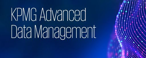 KPMG advanced data management