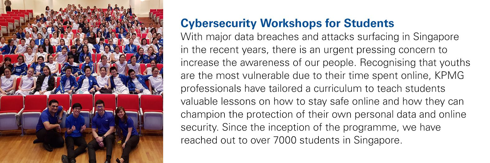 Cybersecurity Workshops for Students