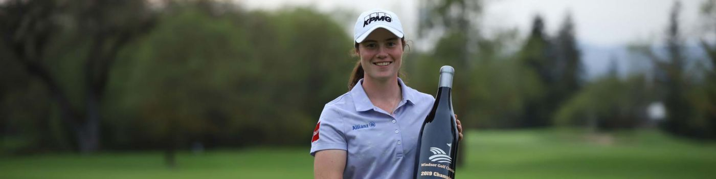 KPMG sponsored Leona Maguire secures first professional win