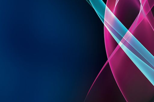 Light blue and pink patterns on blue background