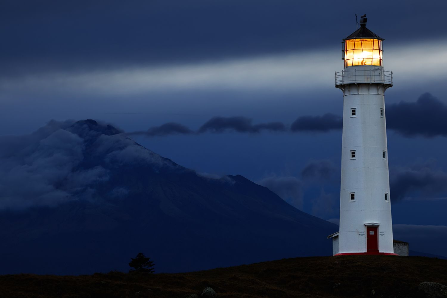 Lighthouse night view