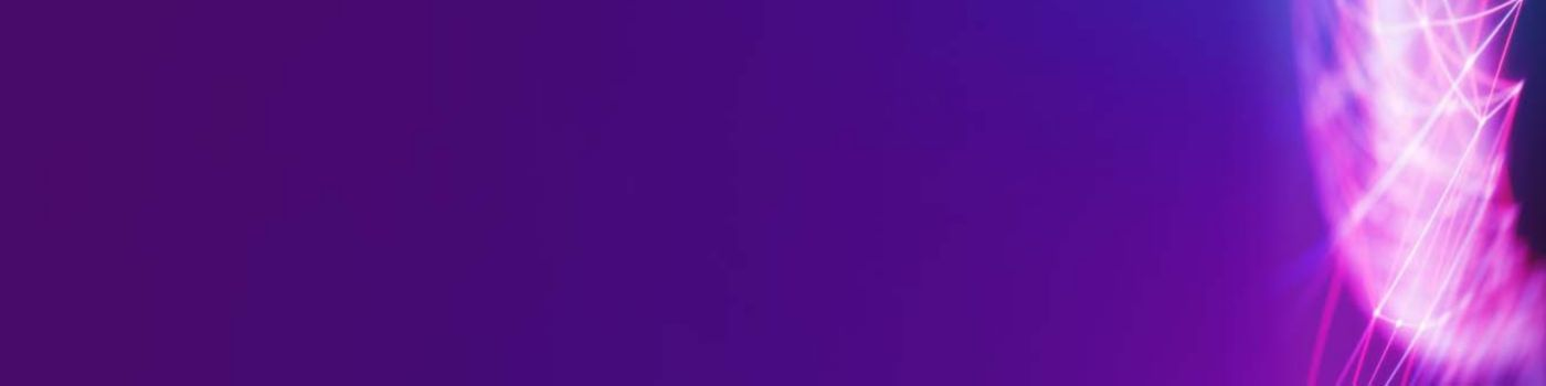 Line with purple texture banner