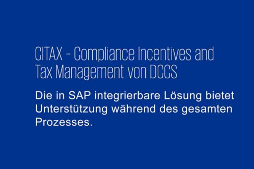 CITAX - Compliance Incentives and Tax Management