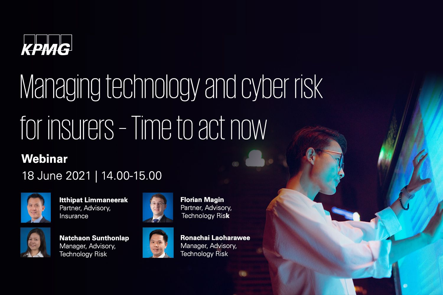 Managing technology and cyber risk for insurers – Time to act now