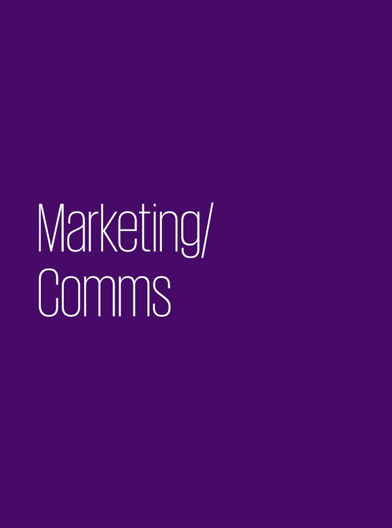 Marketing/ Comms