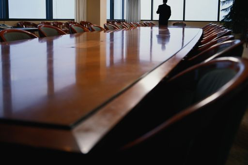 business man in a boardroom