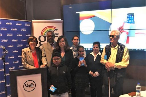 Launch of Digital Inclusion of Persons with Visual Impairment Programme