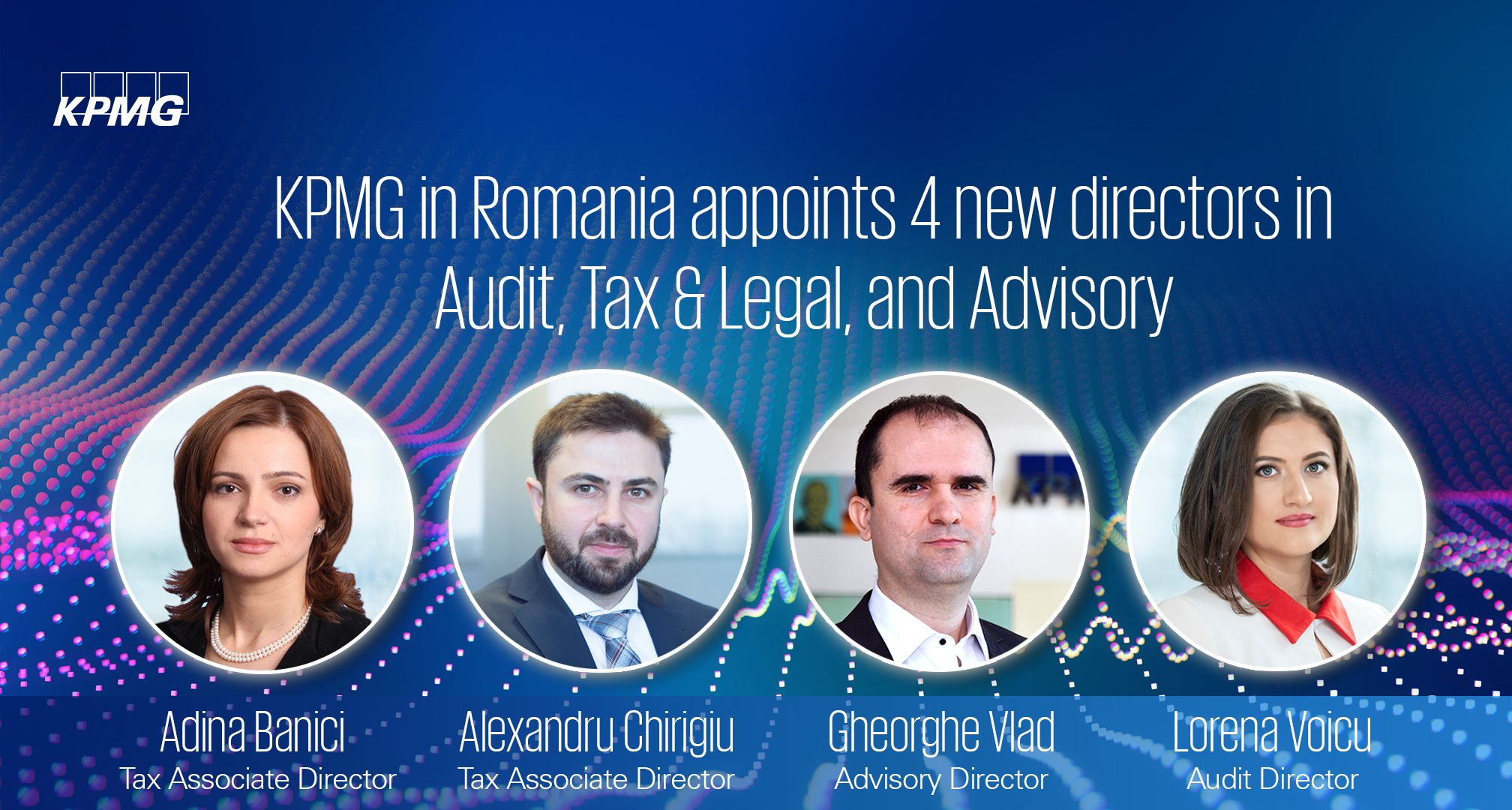 KPMG in Romania appoints new directors