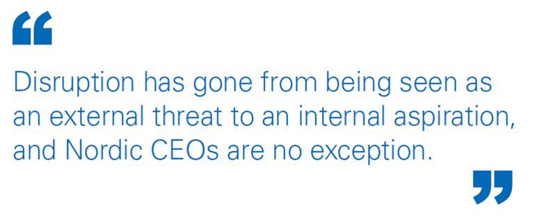 The CEO as Chief Disruptor