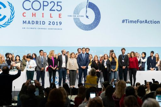COP 25 attendees
