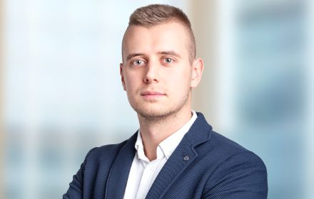 Mateusz Dubiel, Senior Assistant in the Financial Services Department – Actuarial team
