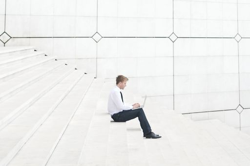 man-sitting-on-the-stairs