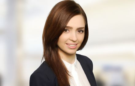 Justyna Rukuszewicz, Senior Consultant in the Business Advisory Department – Management Consulting team