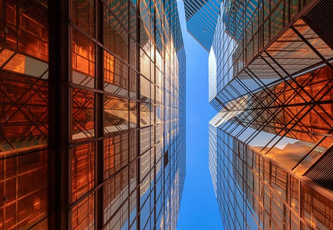 """Office buildings complex 
