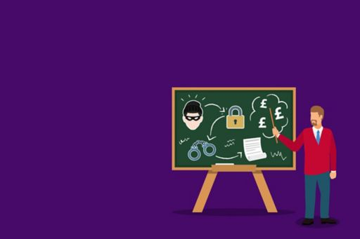 in-the-know-why-continuous-financial-crime-learning-is-a-no-brainer-presentation-man-animation