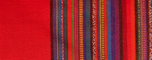 red fabric textile v2
