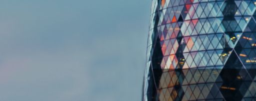 reflecting-round-glass-building