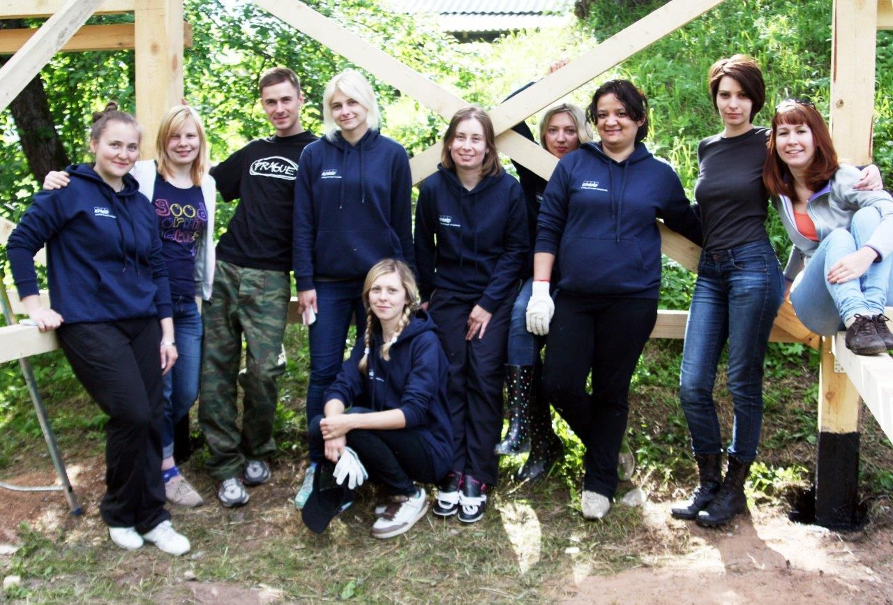 Corporate volunteering