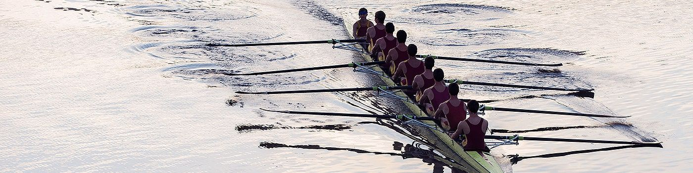 Rowers on the water