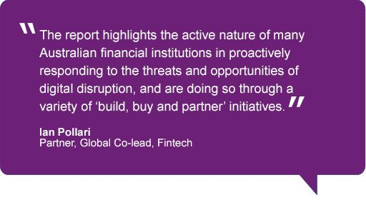 Quote from Ian Pollari, Global Co-lead, Fintech